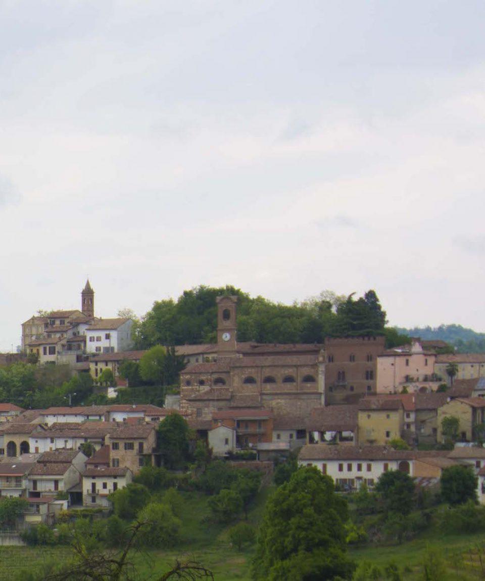Vista panoramica di Sala Monferrato